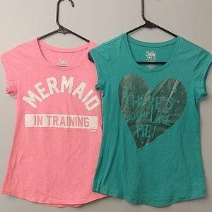 Mermaid Heart Tops